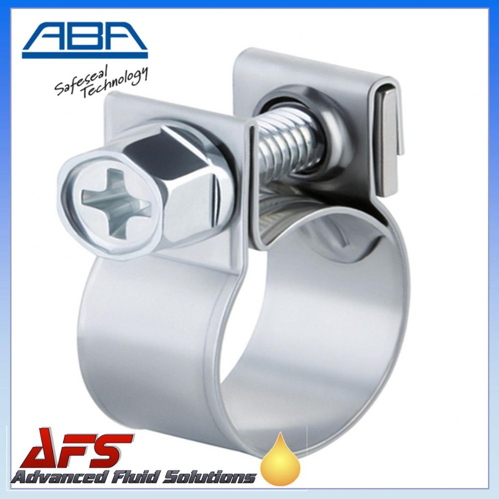 ABA Mini Stainless Steel Clip to Suit 14mm O.D Hose (9/16)